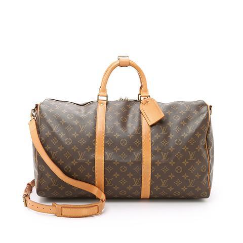 Heritage Louis Vuitton Monogram Keepall 50 Bag