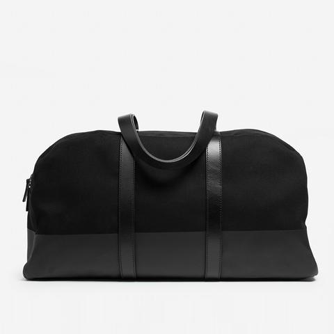 Dipped Weekender Bag in Black