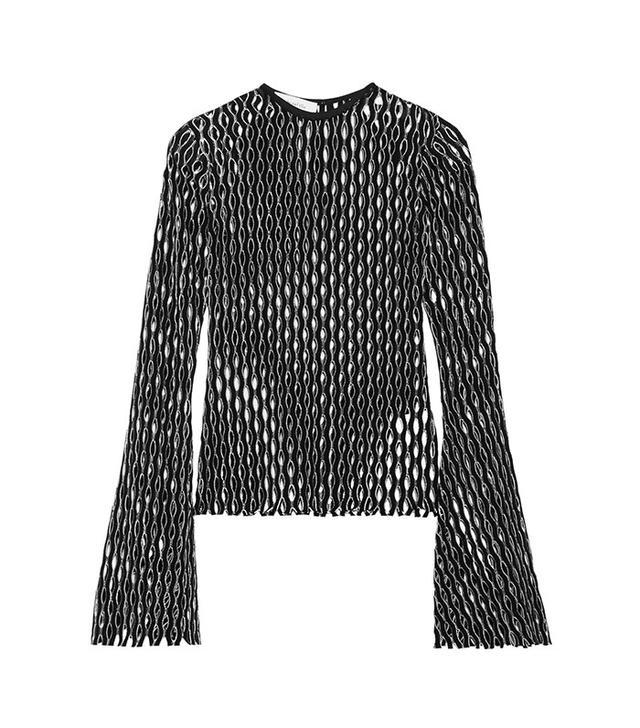 Beaufille Naos Open-Knit Top