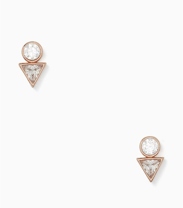 Kate Spade New York Bright Ideas Triangle Studs