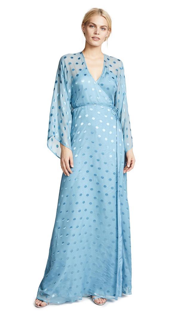 Kimono Wrap Gown
