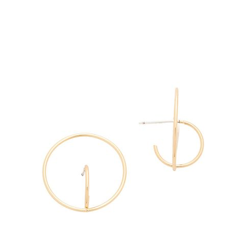 Encircled Baby Hoop Earrings