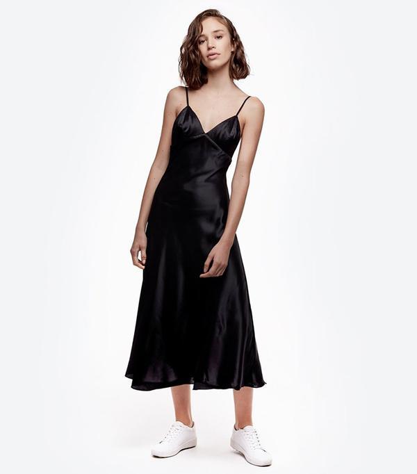 cheap summer dresses - Daya by Zendaya Satin Slip Dress