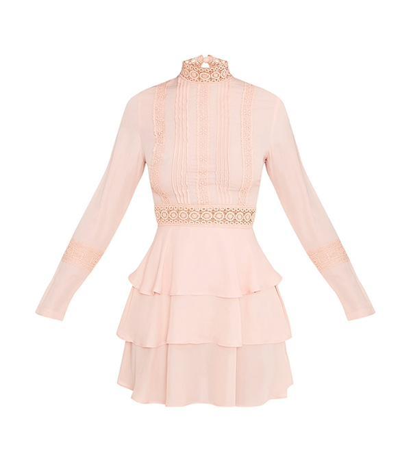 cheap summer dresses - PrettyLittleThing Ruffle Swing Dress