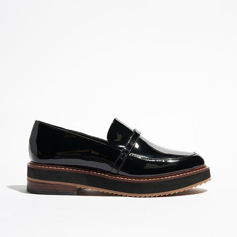 Women's Justine Patent Platform Loafers