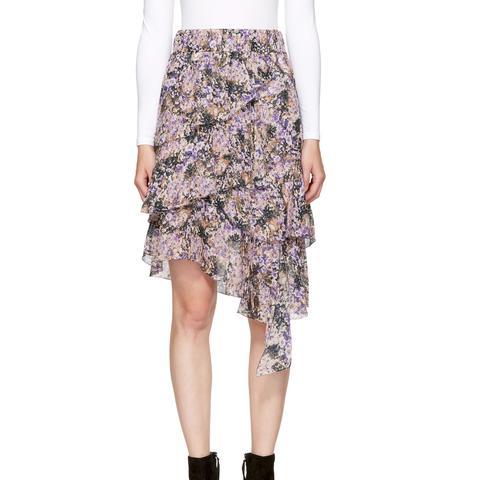 Purple Jeezon Miniskirt