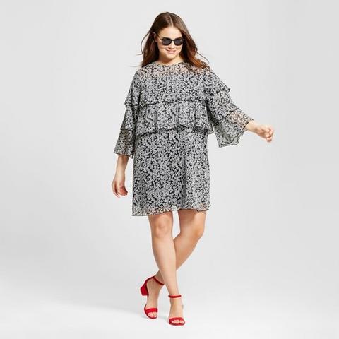 Layered Ruffle Mini Dress