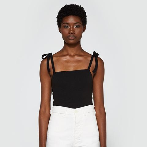 Shoulder Tie Bodysuit