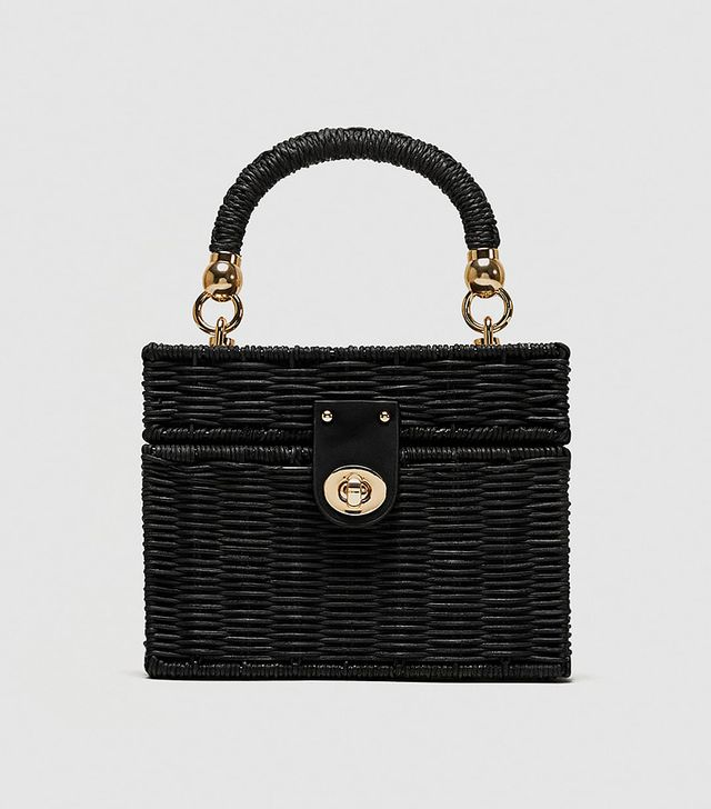 Zara Minaudière Bag With Braided Handle