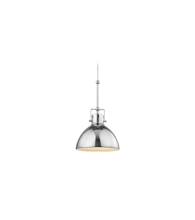 Design Classics Lighting Industrial Mariner Polished Chrome Mini-Pendant Light