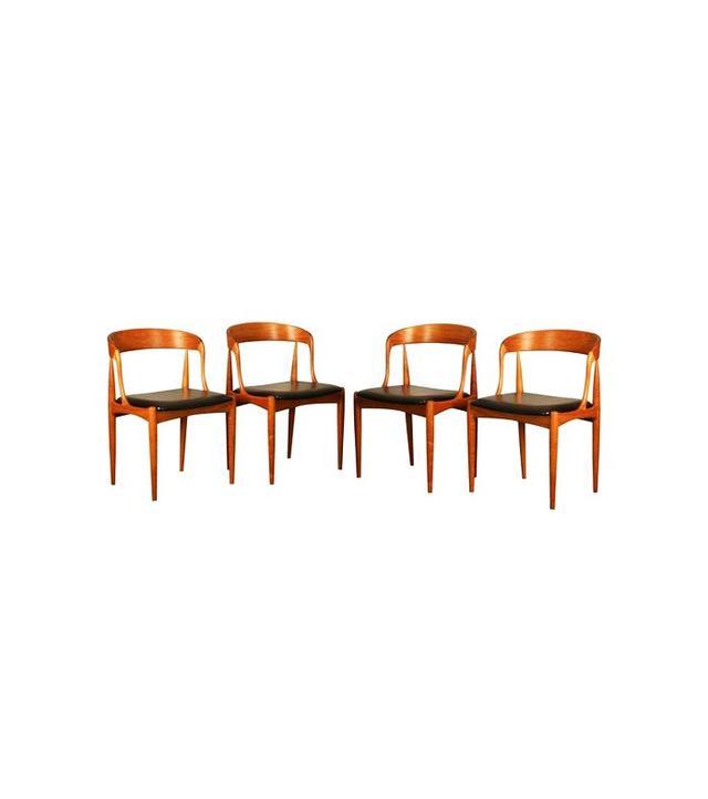 Johannes Andersen Model 16 Chairs, Set of 4