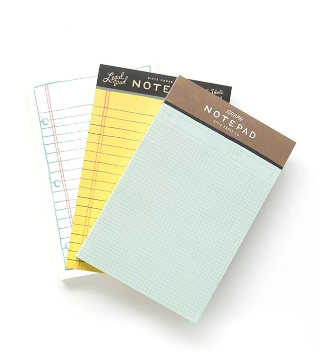 Rifle Paper Co. Serious Business Notepad Set