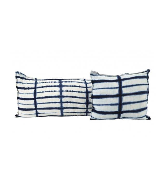 Jayson Home Indigo Brique Pillows