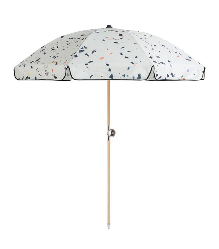 Terrazzo Beach Umbrella by Basil Bangs