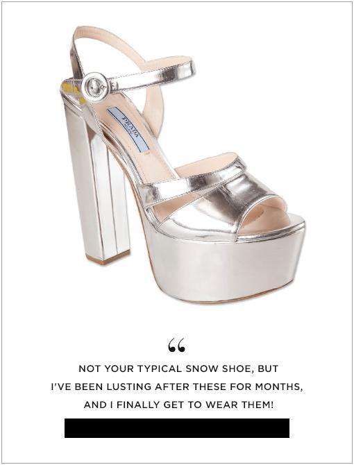 Metallic Platform Sandals ($850)