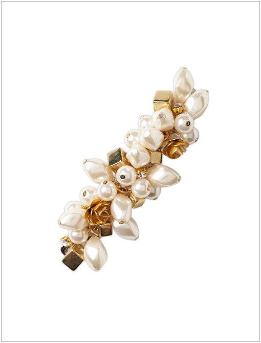 Pinged Pearl Clip ($24)