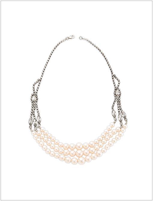 Regal Multi Strand Necklace ($672)  Image courtesy of Shopbop.com