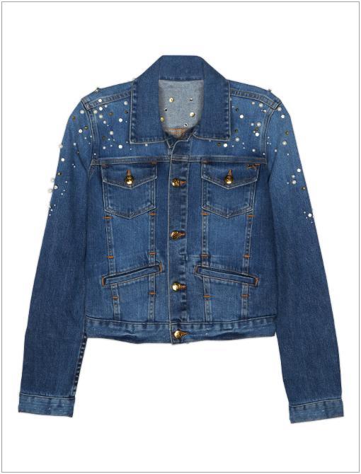 Destroyed Denim Jacket ($398)