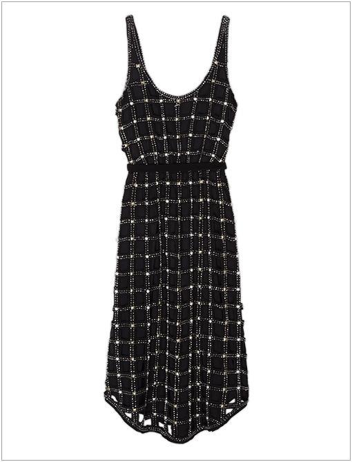 New Romantics Material Girl Lattice Dress ($500)