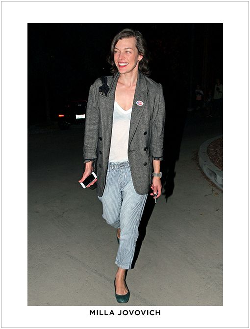 Similar Style:Marni Cuffed Boyfriend-Fit Jeans ($450) Image courtesy of Pacific Coast News