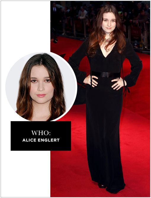 WHO: Alice EnglertWHAT: You don't know her yet. Although you probably know her mother, The Piano director Jane Campion. WHY: Next month this New Zealand beauty will star opposite Elle Fanning in...