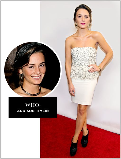 WHO: Addison TimlinWHAT: Hit the small screen in Showtime's Californication. WHY: Timlin stars alongside Anton Yelchin in the indie Odd Thomas and in ABC's conspiracy drama Zero Hour, which...
