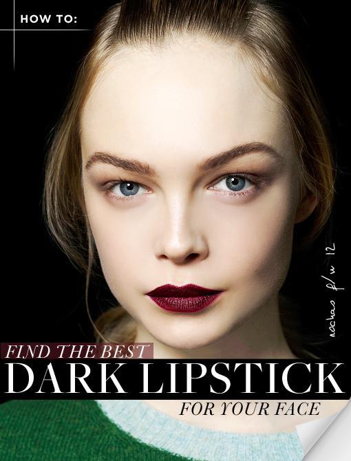 Choose a Bordeaux Lipstick