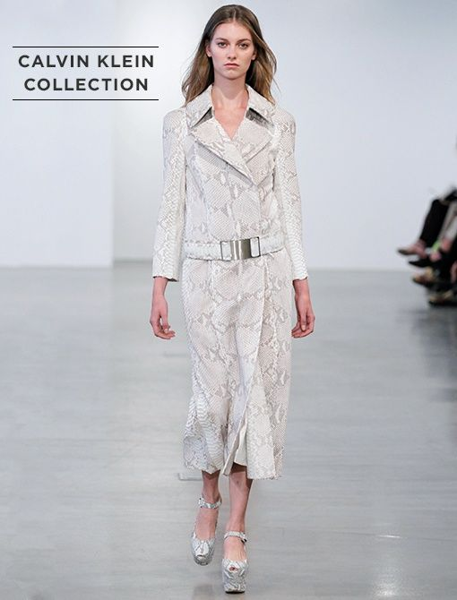 Angora Python Double Breasted Belted Coat ($11,950, 212.292.9000)