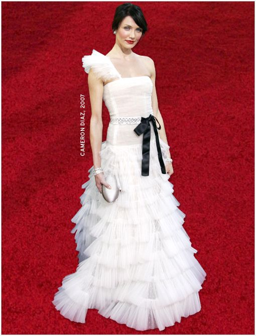 What She's Wearing: Valentino dress  Image courtesy of Getty Images