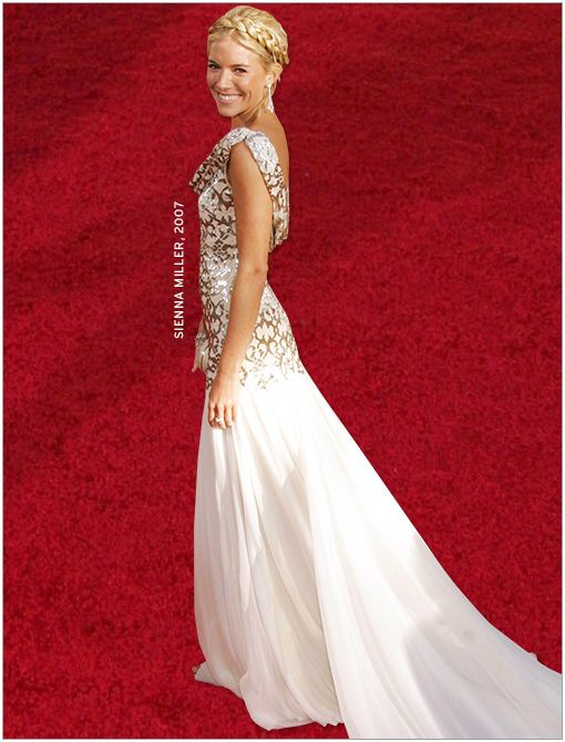 What She's Wearing: Marchesa dress  Image courtesy of Getty Images