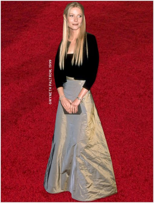 What She's Wearing: Calvin Klein Collection twinset and skirt  Image courtesy of Getty Images