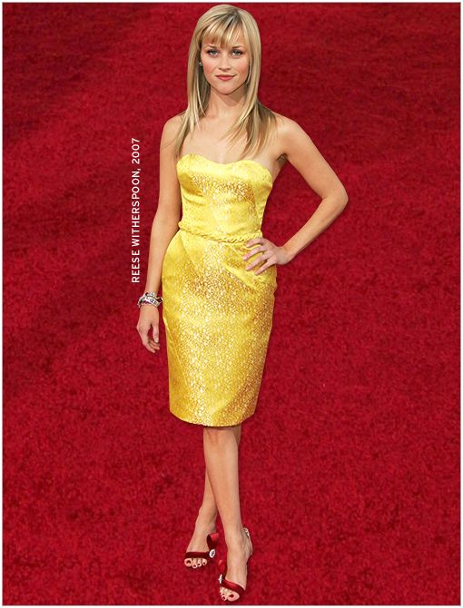 What She's Wearing: Nina Ricci dress, Brian Atwood shoes  Image courtesy of Getty Images