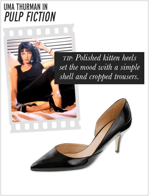 J.Crew Valentina Patent Pumps ($238) in Black