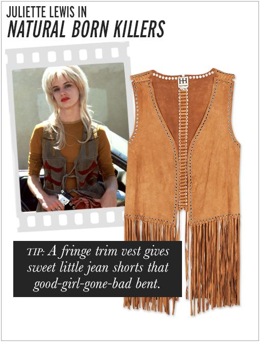 Haute Hippie Suede Fringe Vest ($495)