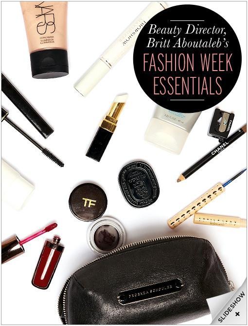 Fashion Week Beauty Essentials
