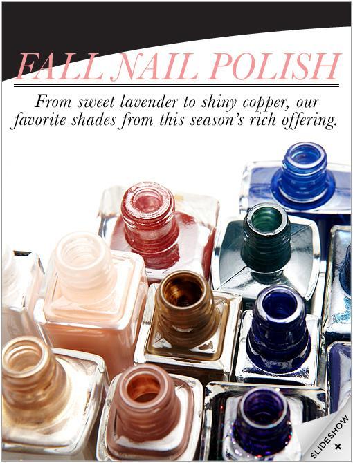 Best of Fall Nail Polish
