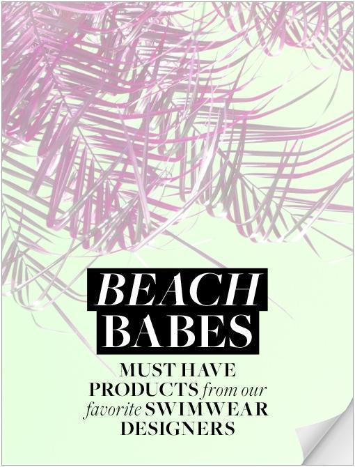 Swimwear Designers Spill Their Beach Essentials