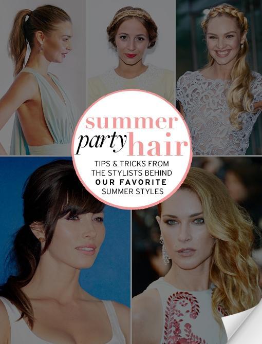 Summer Party Hair