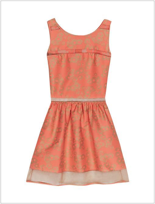 Peep Dress ($450, 408.354.4206)