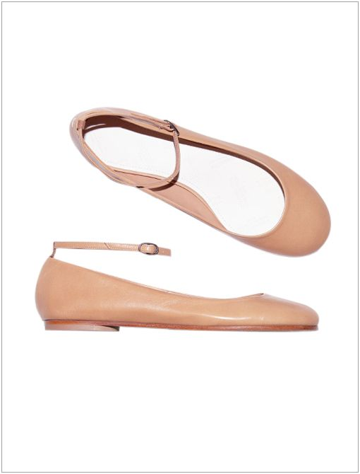 Ankle-Strap Flats ($470)