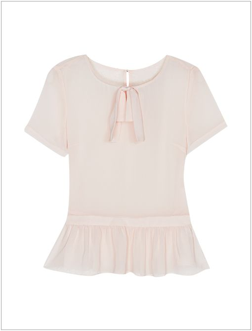 Top ($72) in Light Pink