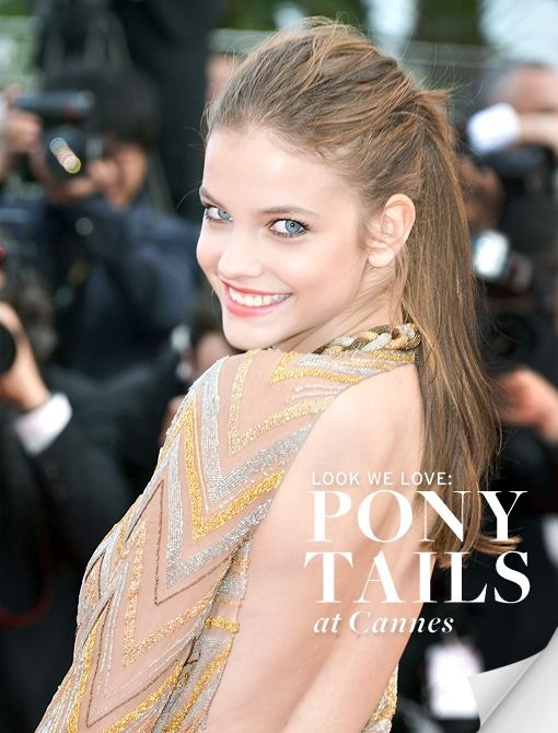 Ponytails at Cannes
