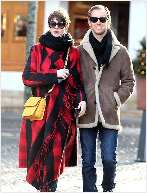 Location: SwitzerlandGet The Look:Woolrich Women's Bristol Duffle Plaid Wool Coat ($299)Image courtesy of INF
