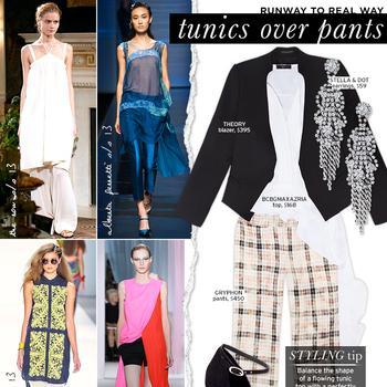 Tunics Over Pants