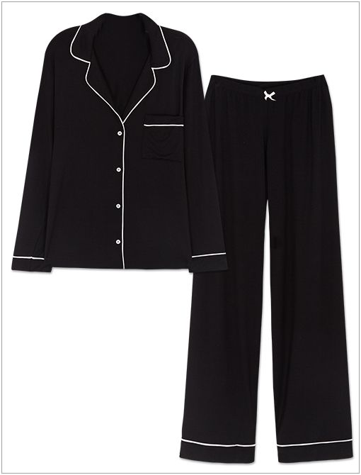 Gisele PJ Set ($120) in Black