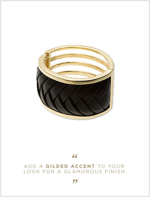 Armani Exchange Textured Cuff ($48)