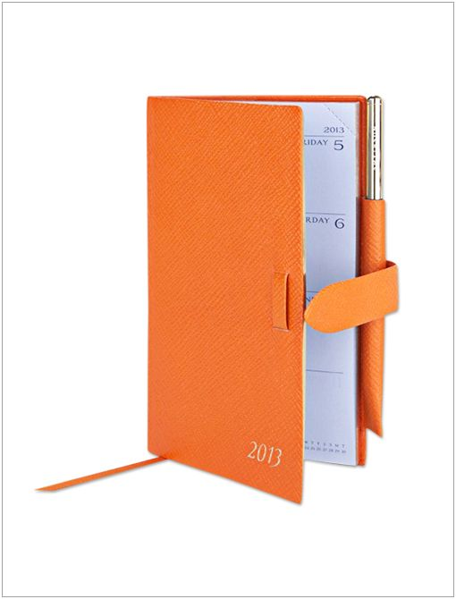 2013 Panama Diary ($130) in Orange