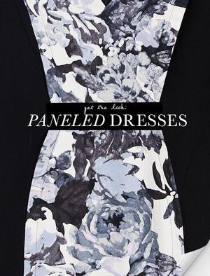 Paneled Dresses