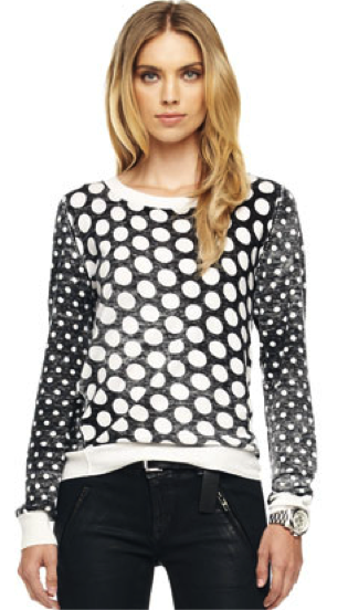 Michael Kors MICHAEL Michael Kors Dotted Knit Pullover