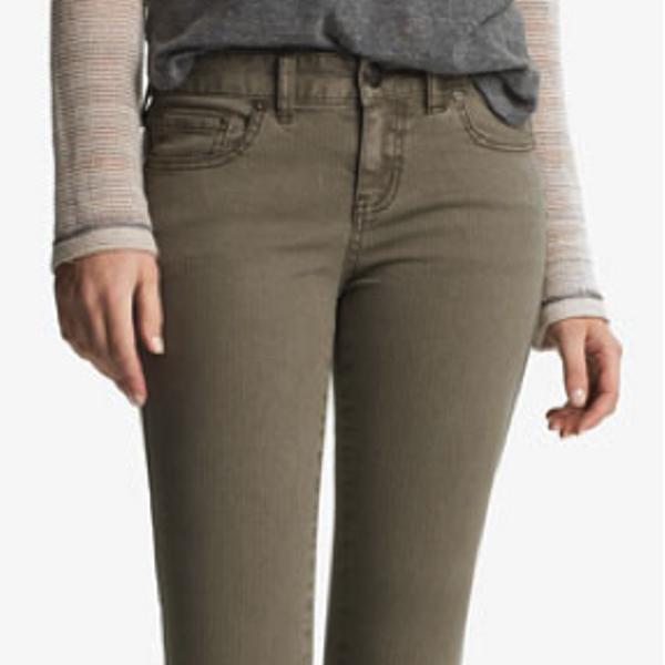Free People Free People Crop Denim Skinny Jeans
